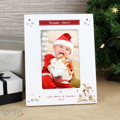 Boofle My 1st Christmas 6x4 Photo Frame
